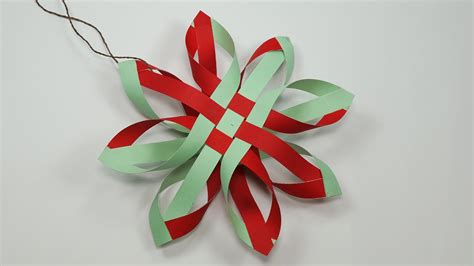 How To Make A Paper Ornament - paper snowflakes how to make paper snowflakes for diy