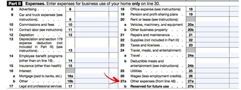 Schedule C Expenses Spreadsheet by How To Deduct Other Expenses The Garage
