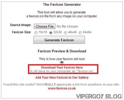 membuat link favicon cara membuat favicon blog afdhal ilahi portal berita