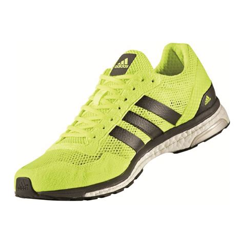 adidas road running shoes adidas adizero adios mens green sneakers running road
