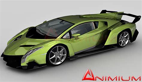 Lamborghini Veneno LP750   Free 3d models
