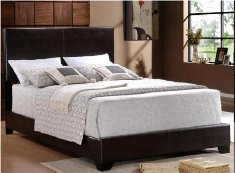 atatnew  profile queen leather headboard bed