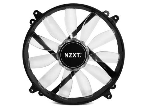Nzxt Fs 200rb 20cm Fan Led Blue nzxt announces new fz 200 200mm enthusiast fan legit reviews