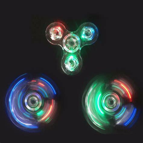 Fidget Spinner Holic Led Transparant Led On 6 fidget spinner transparente con led envio gratis