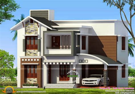kerala home design january 2015 3 bedroom duplex house design plans india