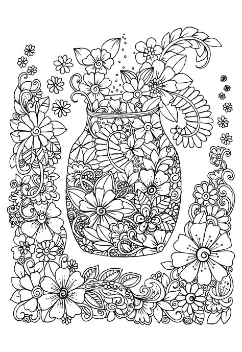 benefits of coloring for adults printable benefits coloring therapy adults 22 color
