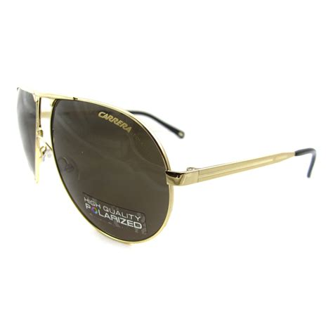 carrera sunglasses carrera sunglasses carrera 1 polarized aviator in gold
