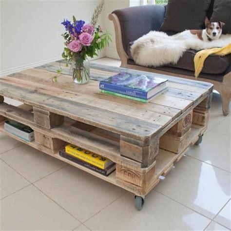 Table Basse Palettes Bois
