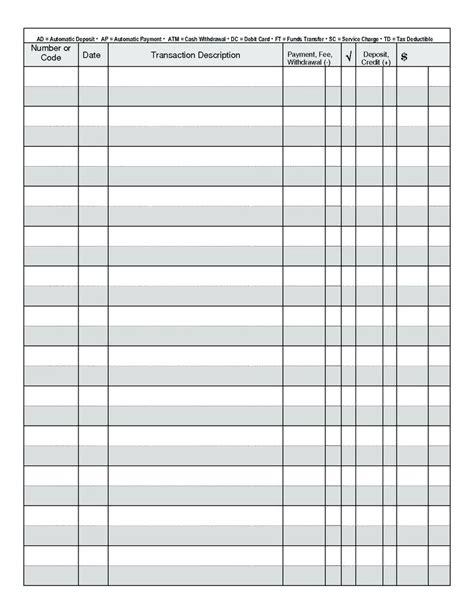 Free Check Template Printable Blank Check Template For Kids Free Template Check Register Print Your Own Checks Template