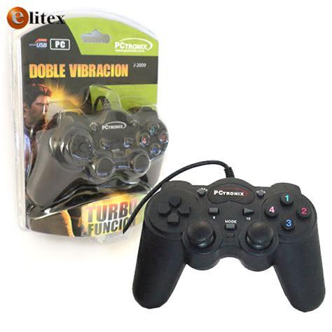 Joystick Usb Analog gamepad joystick usb j 2009 vibracion 12 botones stick analog elitex en linea