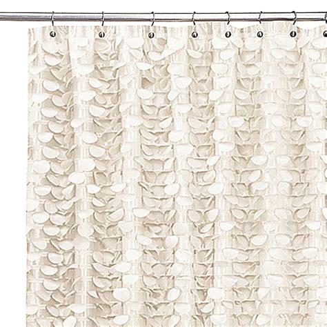 Gigi Ivory Shower Curtain Bed Bath Beyond