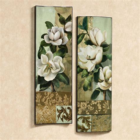 Magnolia Wall Decor by Magnolia Elegante Ii Floral Wall Set