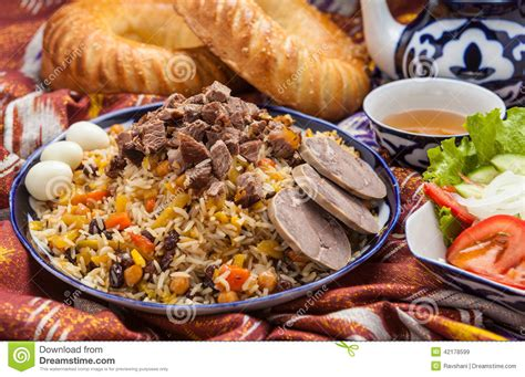 uzbek national cuisine main courses pin pilaf on pinterest