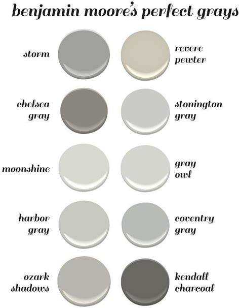 benjamin moore favorite grays 25 best ideas about gray paint on pinterest gray paint