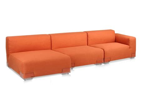 divano l plastics duo l divano di design kartell 2 posti con