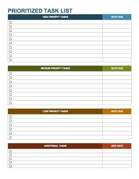 weekly priorities template weekly work to do list template world of exle
