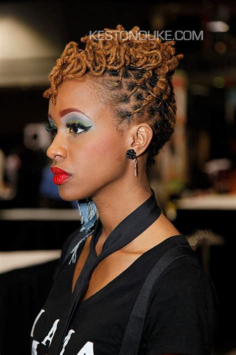 elegant dreadlock hairstyles for women 129 best images about luscious locz pompadour on