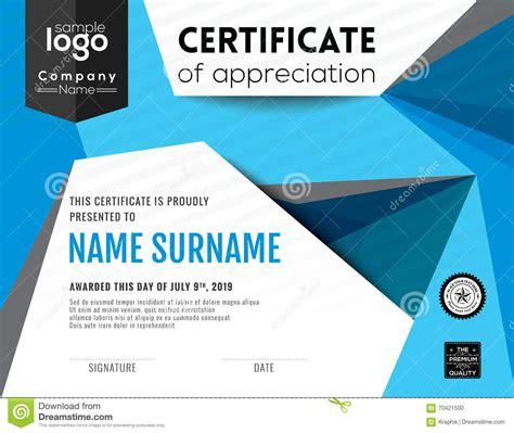 graphic design certificate nj modern certificate background design template stock vector