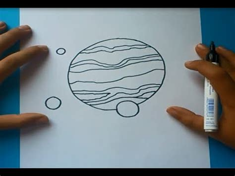 imagenes del universo faciles de dibujar como dibujar un planeta paso a paso how to draw a planet
