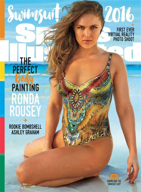 ronda rousey sports illustrated swimsuit issue ronda rousey in 2016 sports illustrated body paint