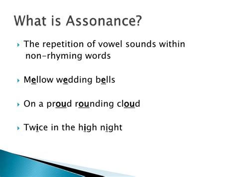 exle of assonance figurative language alliteration consonance assonance
