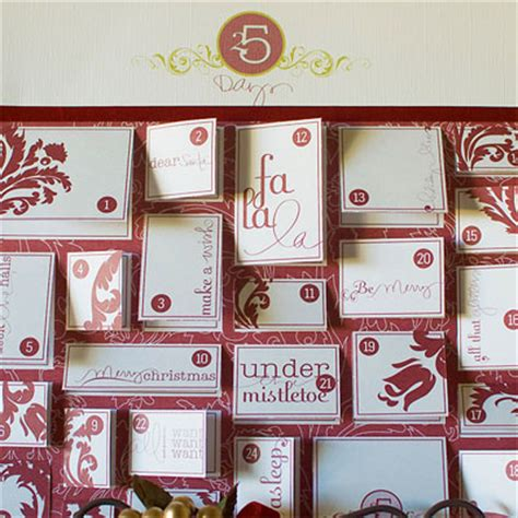 How To Make A Paper Advent Calendar - how to make an advent calendar