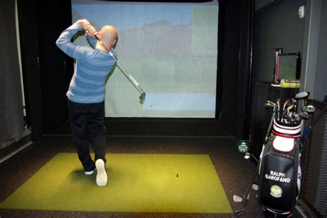 swing simulator don t just maintain your swing this winter improve it