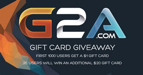 Gift Game Free Gift Card - the g2a com video game gift card giveaway