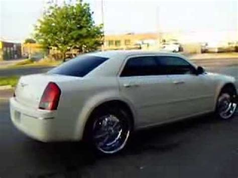 big truck with chrysler rims chrysler 300 on 24 quot rims done by factory tire rubber