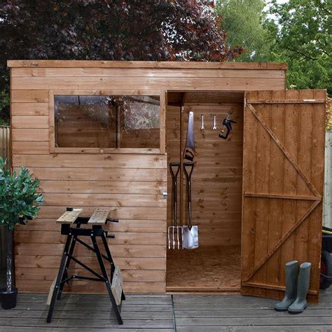 mercia shiplap osb pent shed  garden street