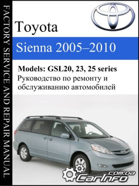 download car manuals 2008 toyota sienna navigation system toyota sienna руководство скачать бесплатно filesgm