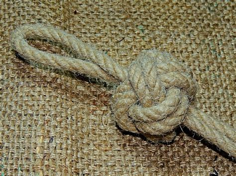 boatswain knot bosun s lanyard knot how to tie it