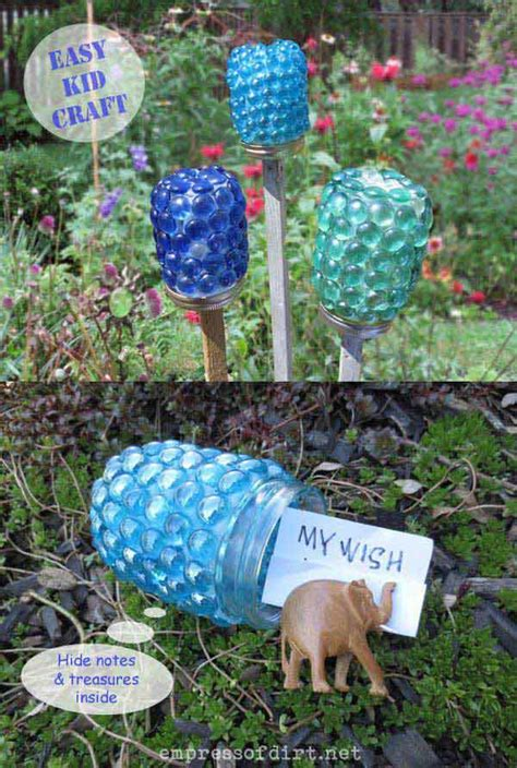 Craft Home And Garden Ideas 34 Easy And Cheap Diy Projects To Dress Up Your Garden