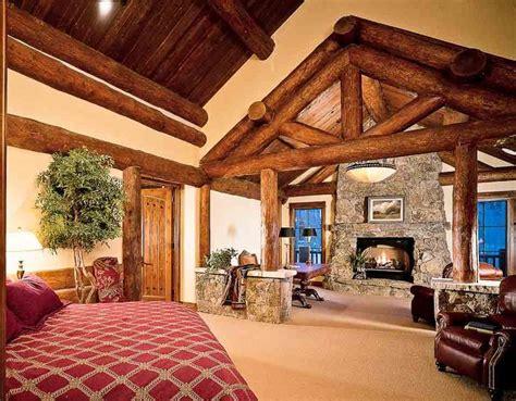 log home bedrooms log home master bedrooms homes pinterest