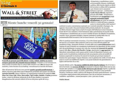 sciopero banche 30 gennaio 2015 ecco perche il 30 gennaio i bancari faranno sciopero