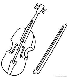 violin coloring pages violin coloring page musical instruments