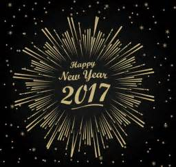 2017 new year template with fireworks design free vector in adobe illustrator ai ai format