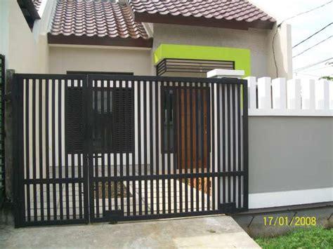 pagar rumah minimalis bengkel las jogja pagar kanopi  teralis murah yogyakarta