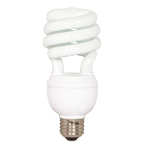 Coil Light Bulbs satco products integrated cfl mini coil fluorescent light