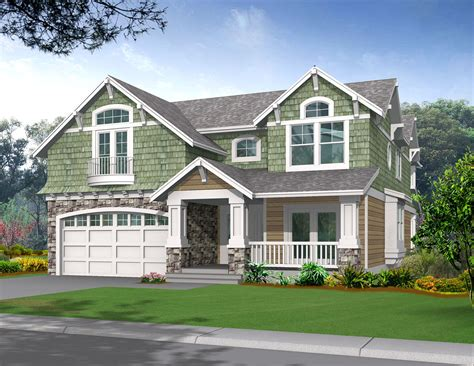 craftsman home plan two story craftsman bungalow house plans maverick homes