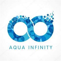 Aqua Infinity Aqua Infinity Logo Stock Vector 169 Koltukov Alek 113182480