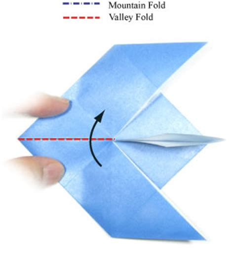Origami Jet Easy - how to make an easy origami jet plane page 6