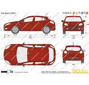The Blueprintscom  Vector Drawing Fiat Bravo