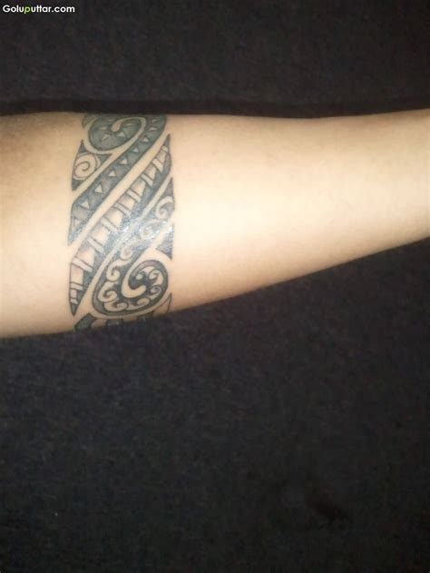 arm tattoo tribal designs cool tribal maori armband on lower arm photos and