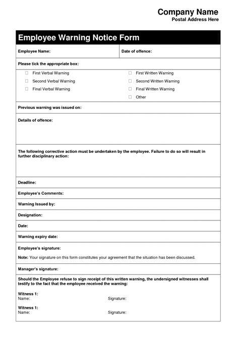 employment warning letter template fieldstation