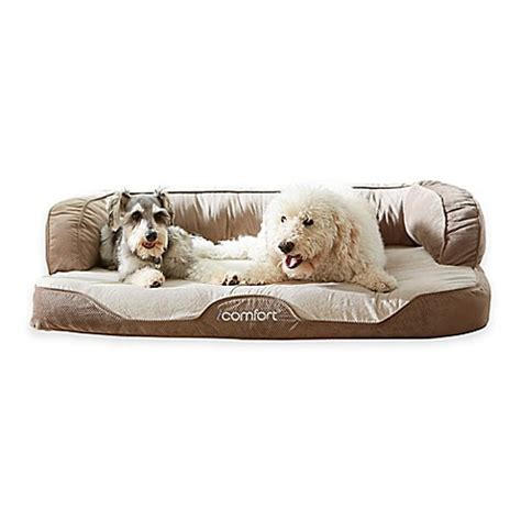 serta dog bed serta 174 icomfort 174 pet bed www bedbathandbeyond com