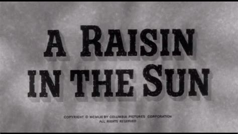 theme song for a raisin in the sun help needed in identifying this song the snippet from quot a
