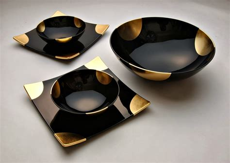 black dinner awsome black marble dinner set ideas4u