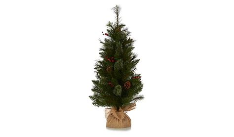 3ft cone and berry christmas tree christmas shop george
