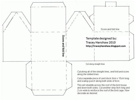 printable paper house template best photos of paper house template